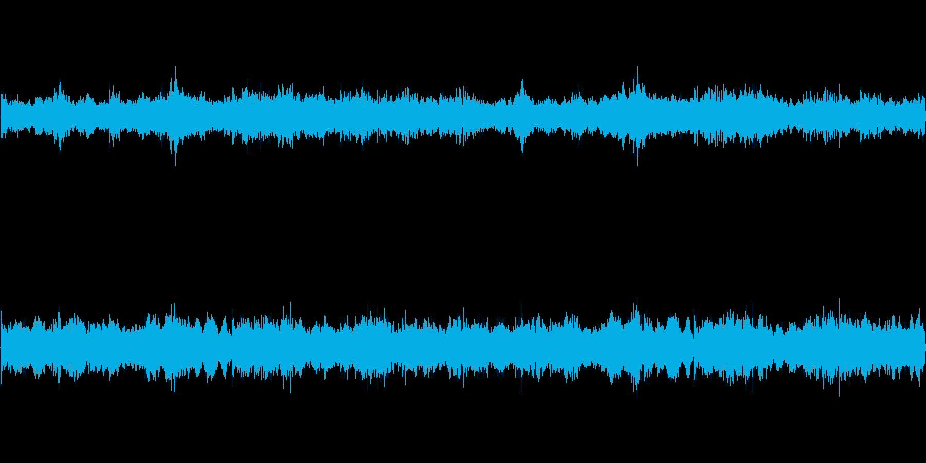 ダークファンタジーなループBGMの再生済みの波形