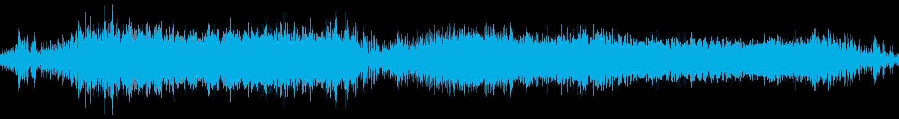 モーションコントロールからのサンプ...の再生済みの波形