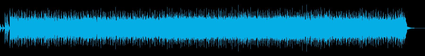 ギター/熱い/ロックBGM6の再生済みの波形