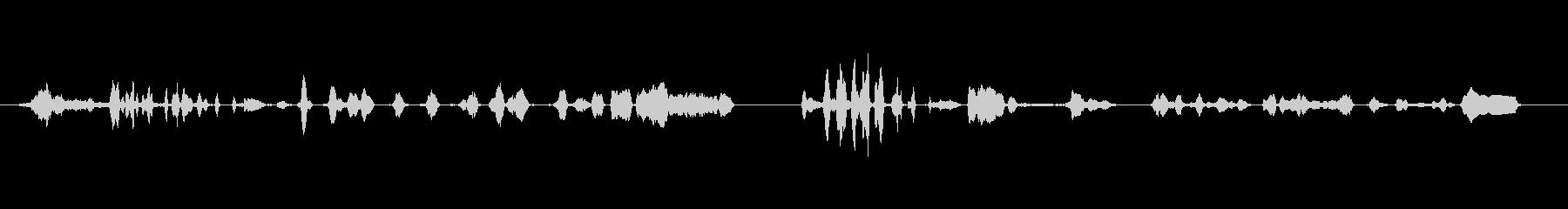 群集 トーク・カーム・クローズ・ラフ03の未再生の波形