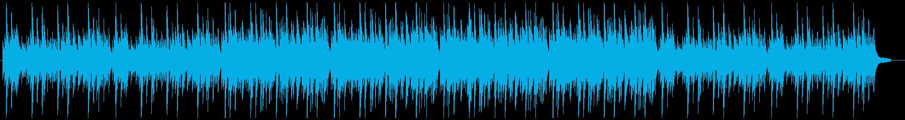 奇妙な緊張感:ピアノソロ劇伴の再生済みの波形