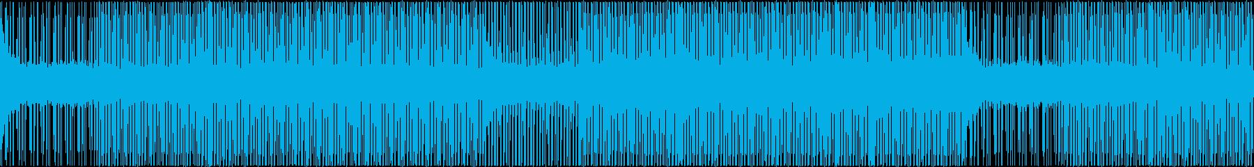 思考中BGMの再生済みの波形
