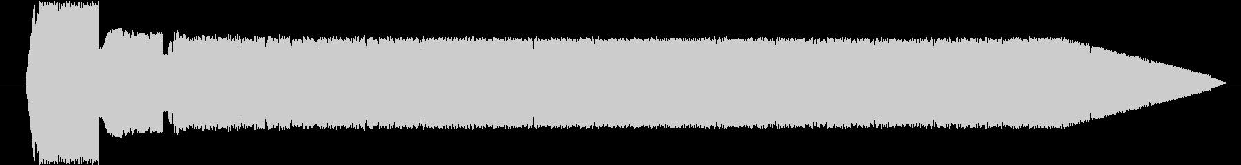FX 電信シンセ04の未再生の波形