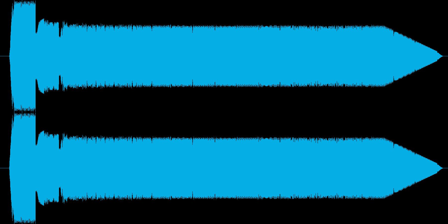FX 電信シンセ04の再生済みの波形