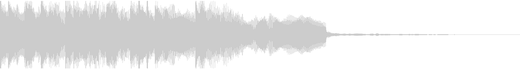 起動音や気品のあるロゴ向けの未再生の波形