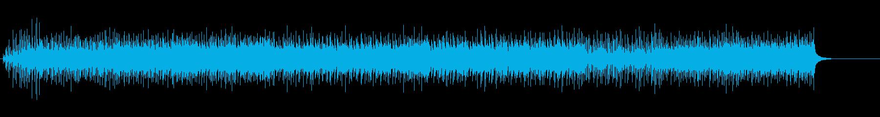 スピード感あふれるエレクトリックポップスの再生済みの波形
