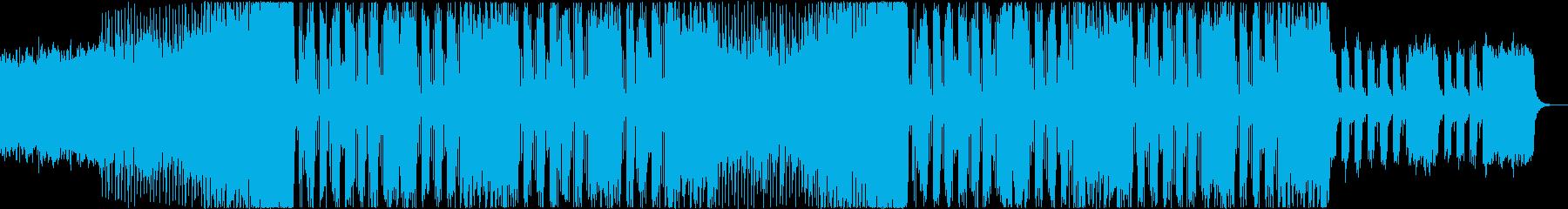 企業VP、CM系EDM 2の再生済みの波形