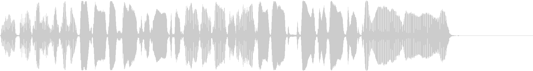 トランペット:ロング、コミカルチャ...の未再生の波形