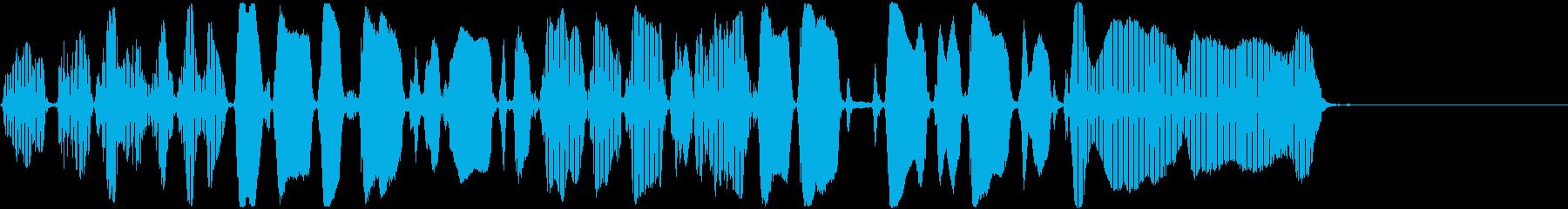 トランペット:ロング、コミカルチャ...の再生済みの波形