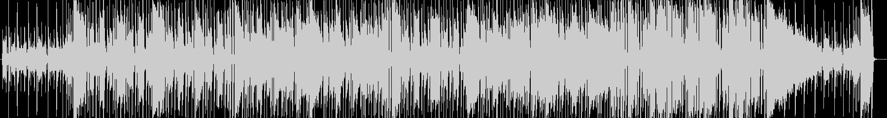 無機質で不思議なフュージョンの未再生の波形