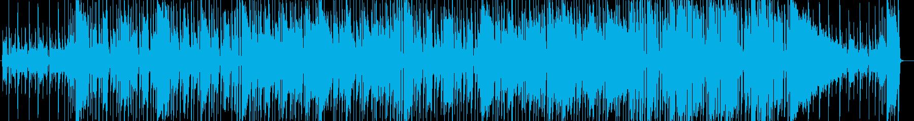 無機質で不思議なフュージョンの再生済みの波形