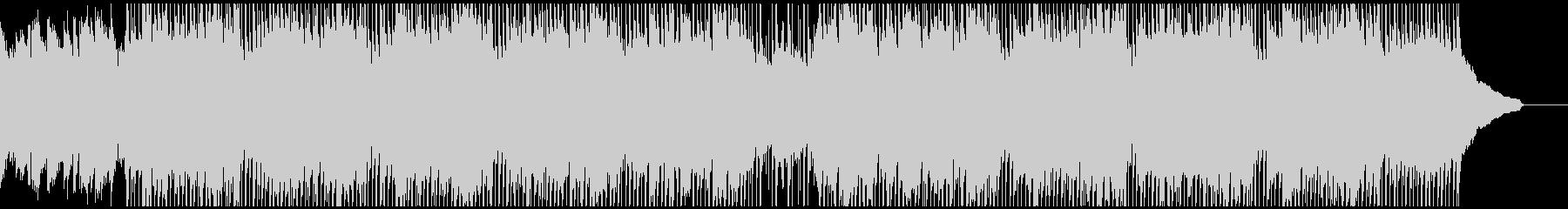 ものすごく集中したい時に流れる曲の未再生の波形