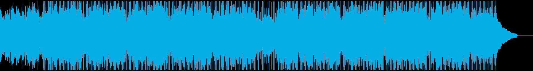 ものすごく集中したい時に流れる曲の再生済みの波形
