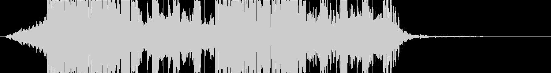 DUBSTEP クール ジングル168の未再生の波形