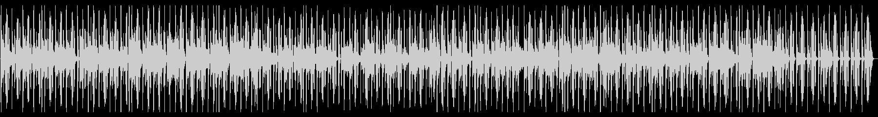アーバンなジャジーヒップホップの未再生の波形