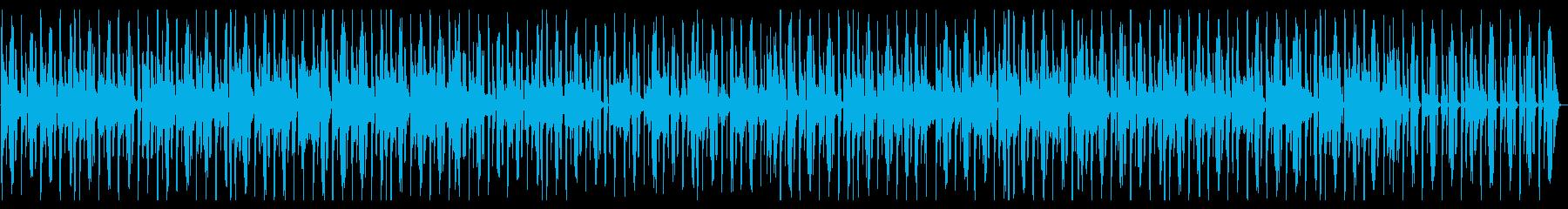 アーバンなジャジーヒップホップの再生済みの波形