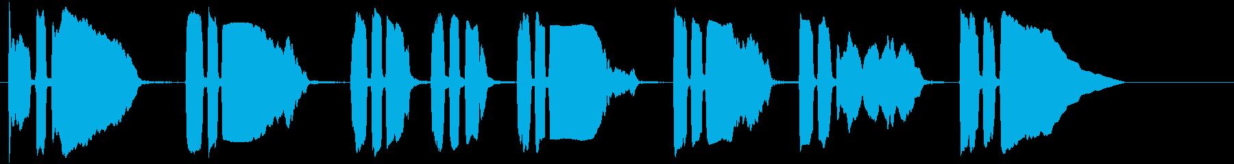 トランペットビューグルコール(サワ...の再生済みの波形