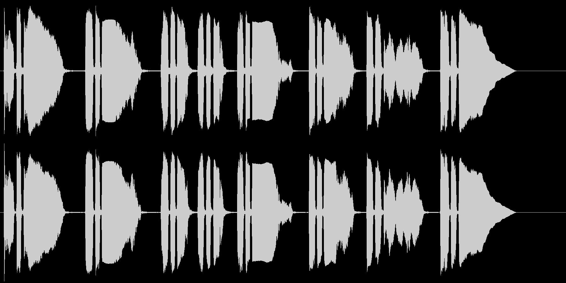 トランペットビューグルコール(サワ...の未再生の波形