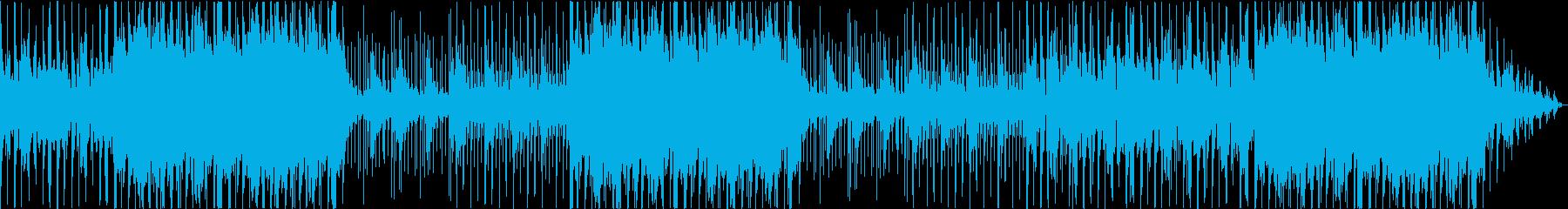 Guitar, electric piano, Lofi, adult, cafe's reproduced waveform