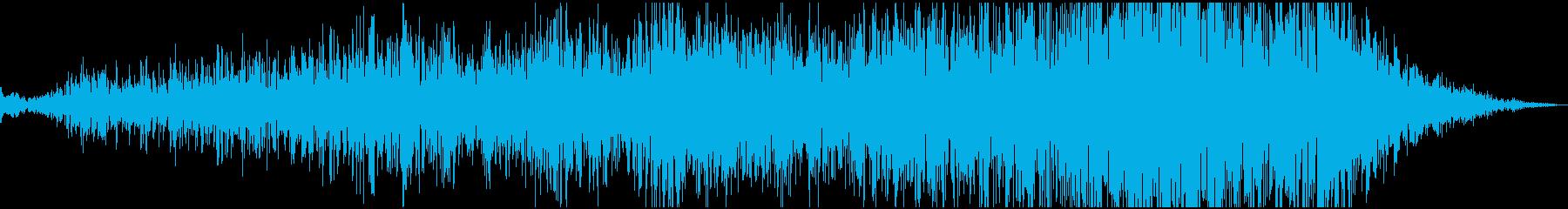 ピアノ一音が深海へ奥深く沈んでいくの再生済みの波形