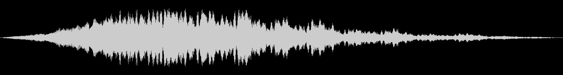 軌道パルスの未再生の波形