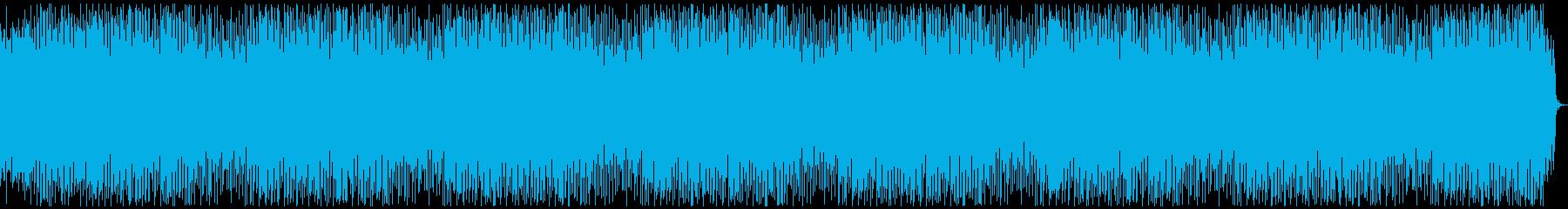 説明、明るいエレクトロニカ、10分の再生済みの波形