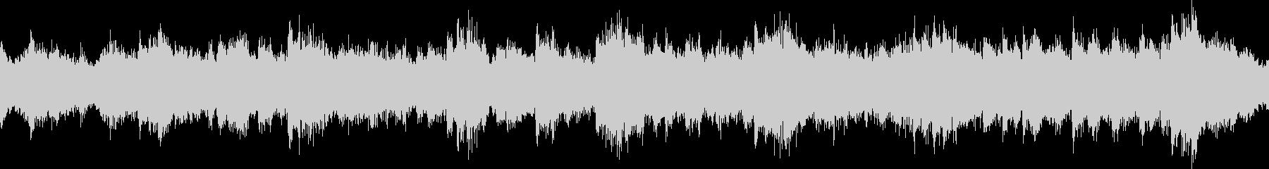 ピアノとシンセの癒し系BGM_ループの未再生の波形