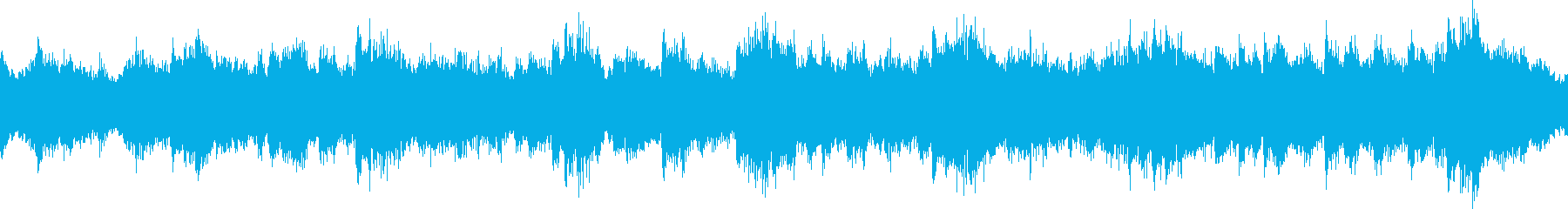 ピアノとシンセの癒し系BGM_ループの再生済みの波形