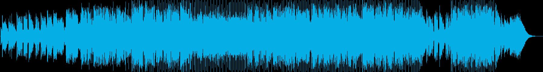 アコースティックギターのカントリーソングの再生済みの波形