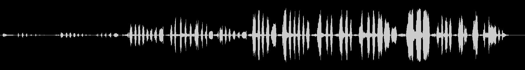 笑い声、男、笑い声、人間; DIG...の未再生の波形