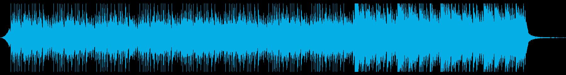 バイオリンとピアノの美しい感動BGMの再生済みの波形