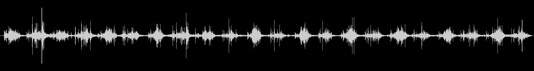 ハーネス ライトウォークシーケンス01の未再生の波形