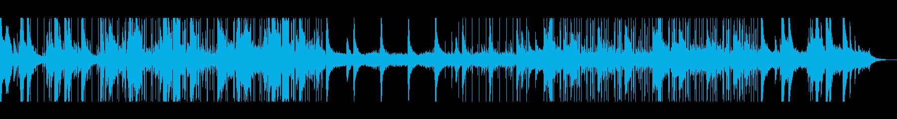 ビートが心地良いリラックスローファイの再生済みの波形