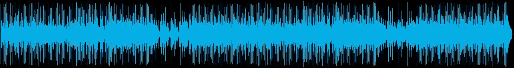 アコースティックギターのピッキング...の再生済みの波形