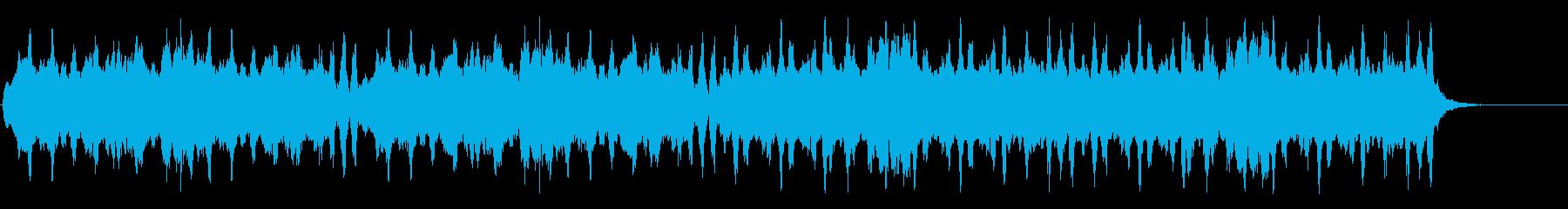 アイルランドのリコーダーアンサンブル風の再生済みの波形