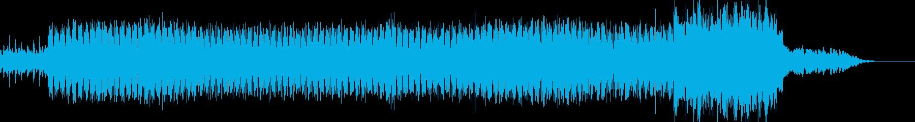 バトル:重厚ダークテックトランス60秒の再生済みの波形