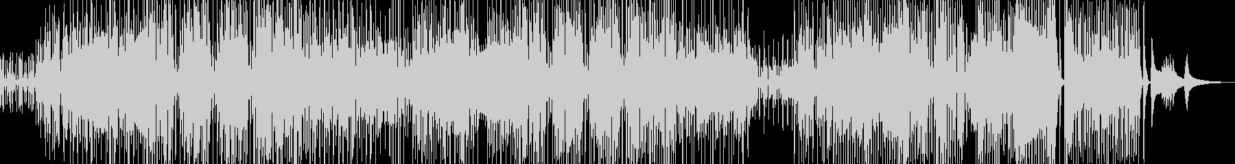 三味線・ユーモラスなジャズの未再生の波形