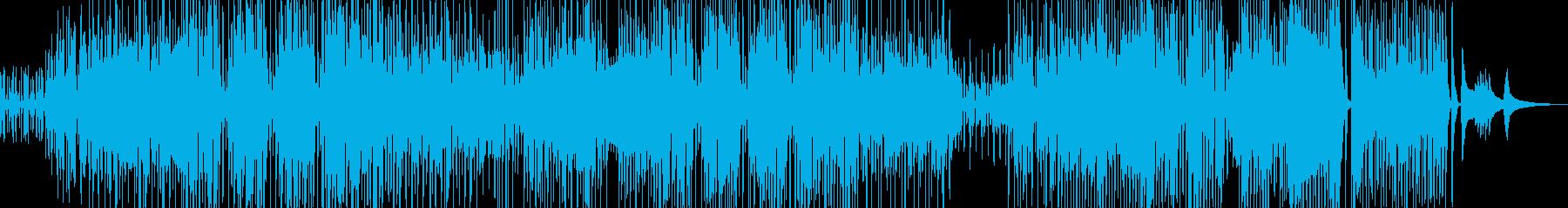三味線・ユーモラスなジャズの再生済みの波形