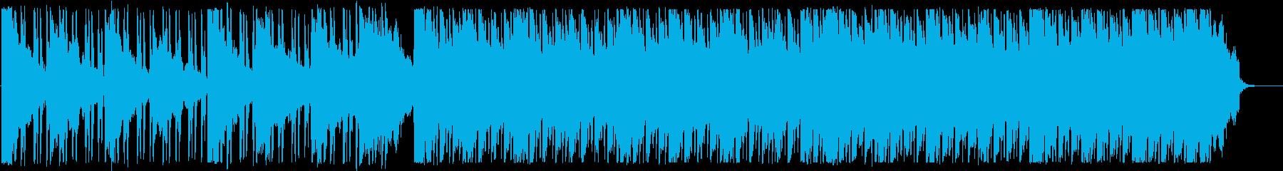 涼しい/ディープハウス_No408_2の再生済みの波形