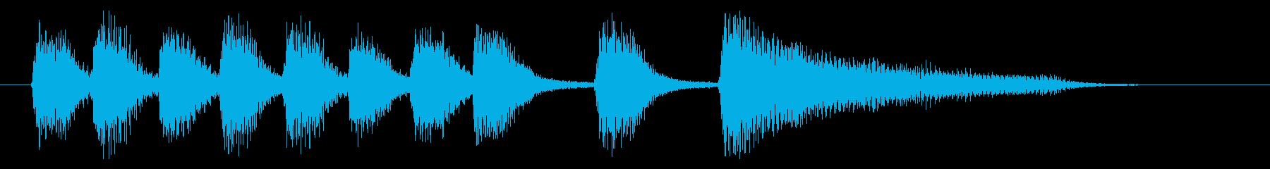 ピアノ/発表・場面転換・軽快なサウンドの再生済みの波形