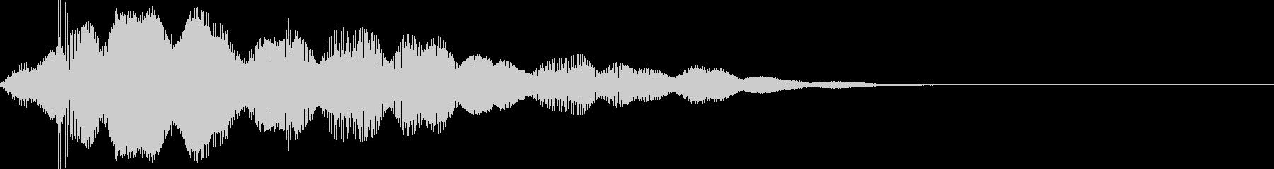 サウンドロゴ49_シンセの未再生の波形