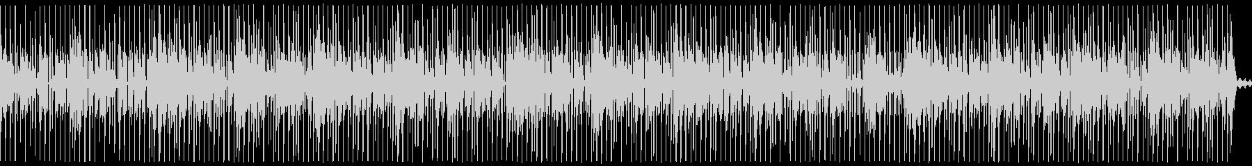プログレッシブハウス。背景をポップ...の未再生の波形