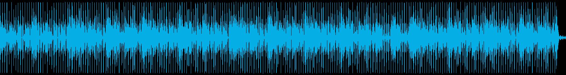 プログレッシブハウス。背景をポップ...の再生済みの波形