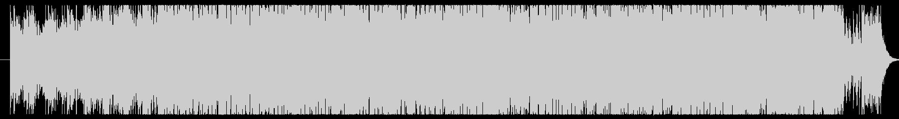 ピアノのメロディをメインに作成しました。の未再生の波形