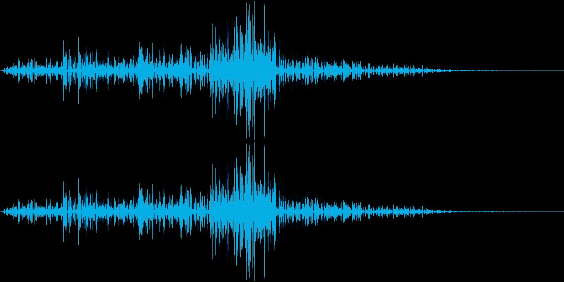 Lighter ライターの音 ジッ 1の再生済みの波形