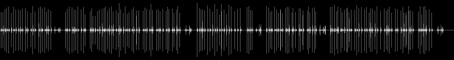 タイプライター02-01(タイプ)の未再生の波形