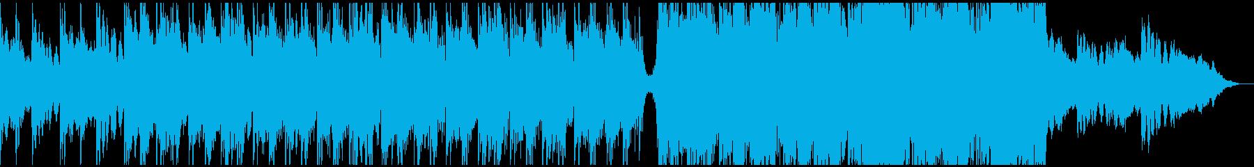 重厚感あるシネマティックトレーラーの再生済みの波形