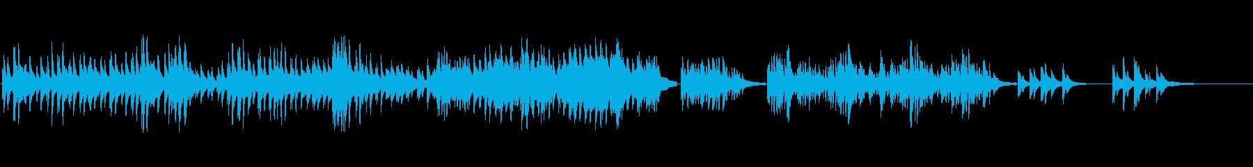 生ピアノソロ・月と金木犀の再生済みの波形