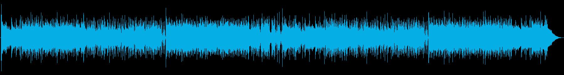 明るい未来を感じるピアノロックポップスの再生済みの波形