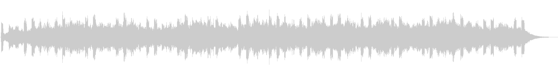 Magnificent jingle's unreproduced waveform